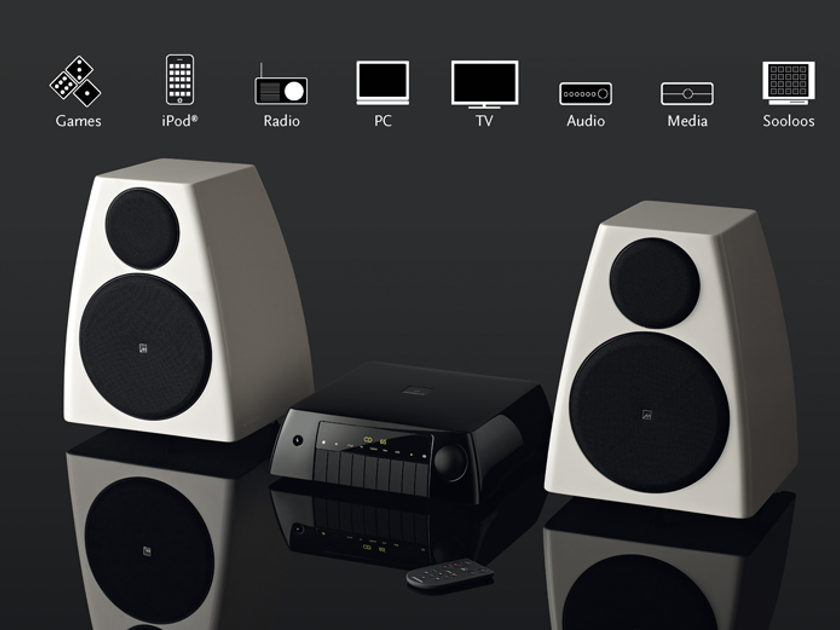 Meridian  MC200 + AC200 + DSP3200 Active Music system