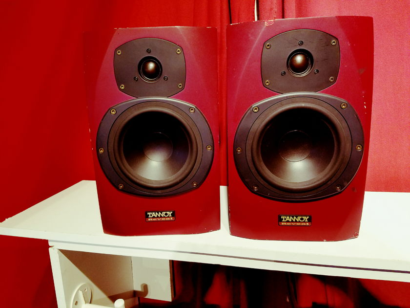 Tannoy Reveal red