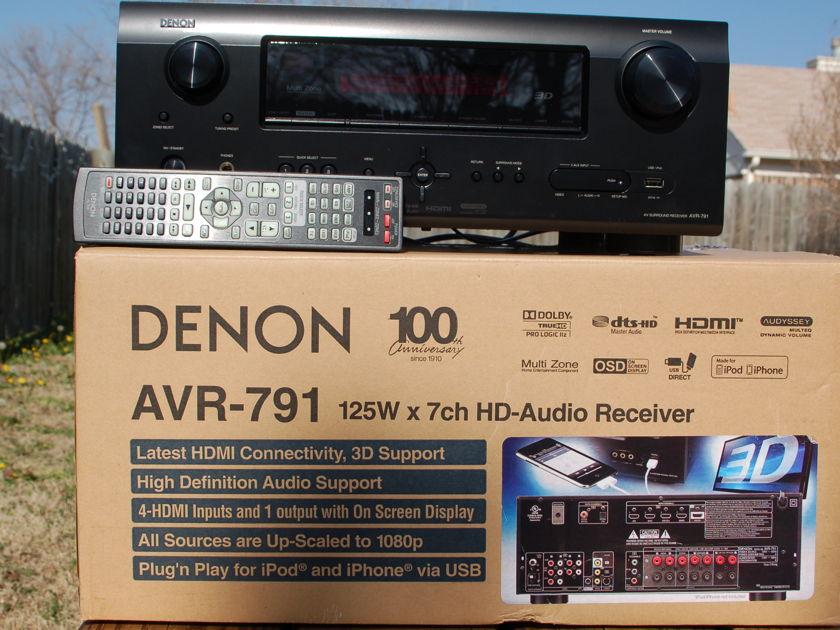Denon  AVR-791 Home Theater Receiver