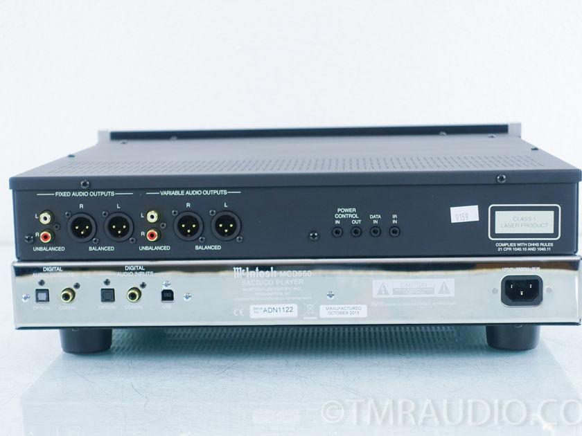 McIntosh  MCD550  SACD/CD Player; MCD-550(9159)