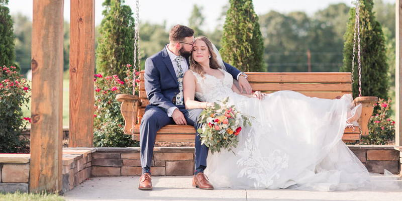 Rustic and Personalized Summer Wedding