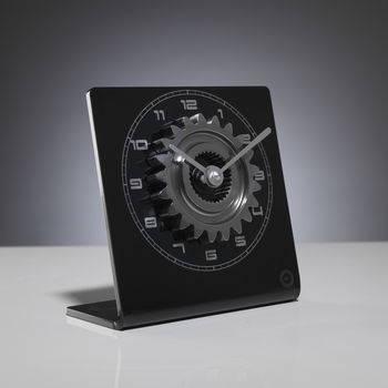 Formula one gear clock