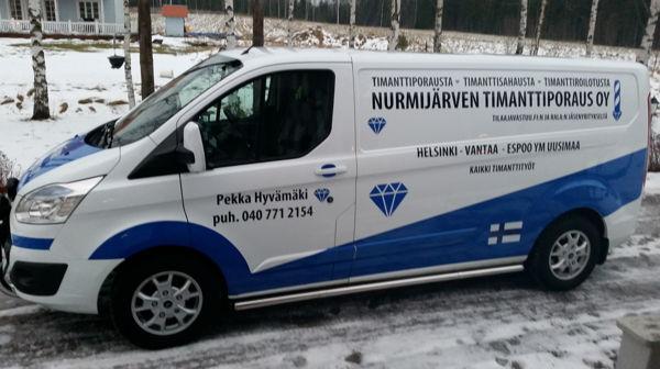 Nurmijärven Timanttiporaus Oy, Nurmijärvi