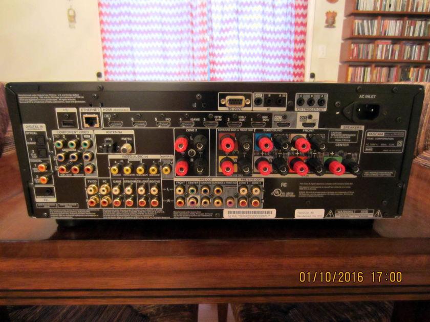 Tascam PA-R200 Network AV 7.2 Surround Receiver/Pre-amplifier