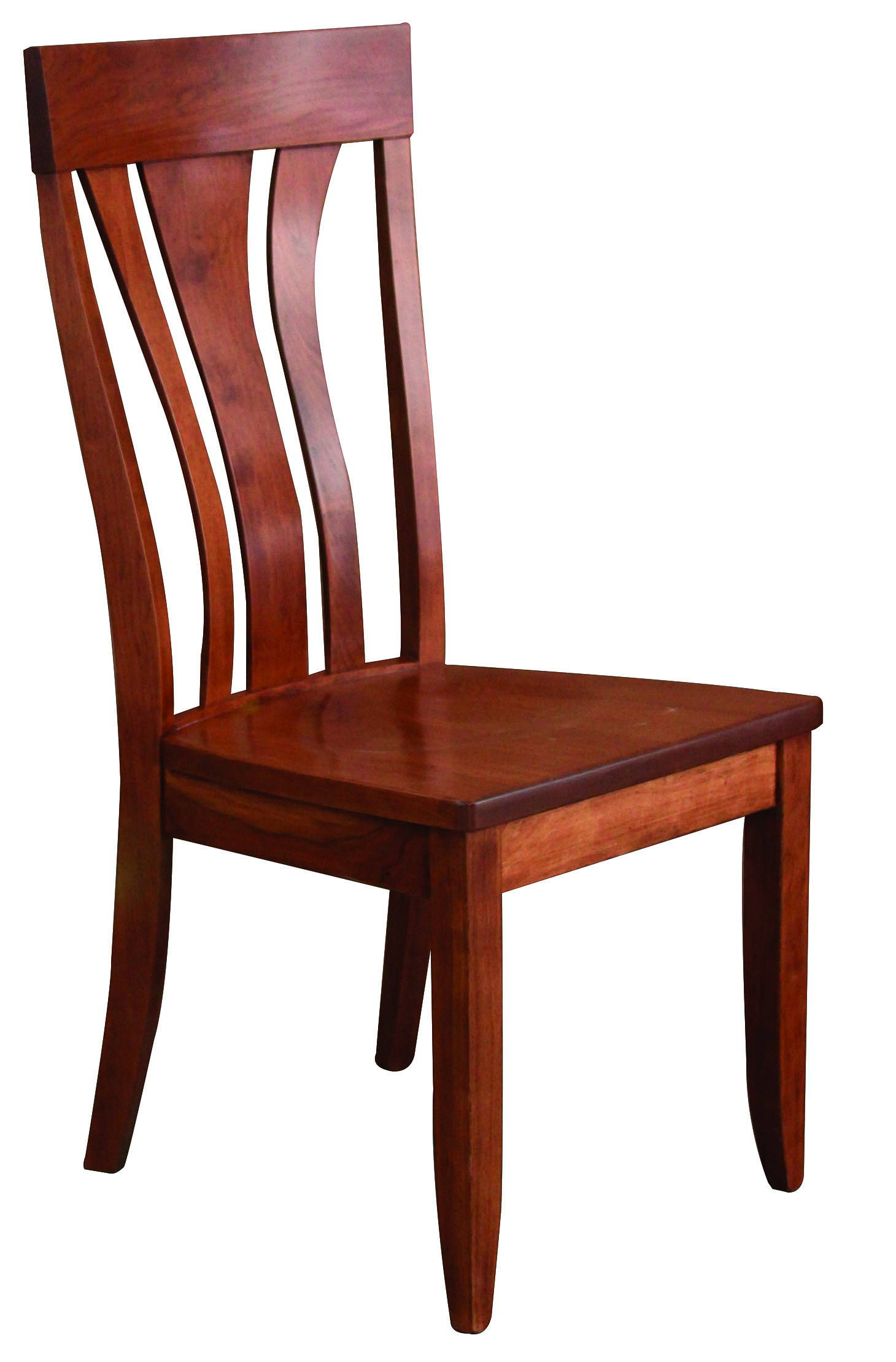 Hudson Solid Wood, Handcrafted Kitchen Chair or DIning Chair from Harvest Home Interiors Amish Furniture