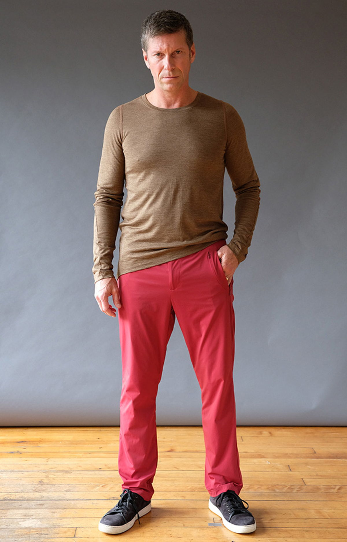 TENACIOUS – INSANELY COMFORTABLE LONG HAUL FLIGHT PANT RED MAPLE