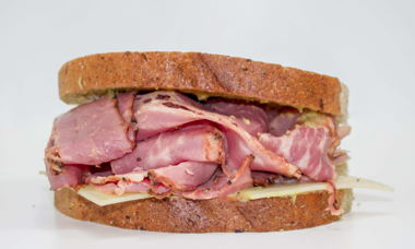 Big Star Sandwich Corned Beef on Rye