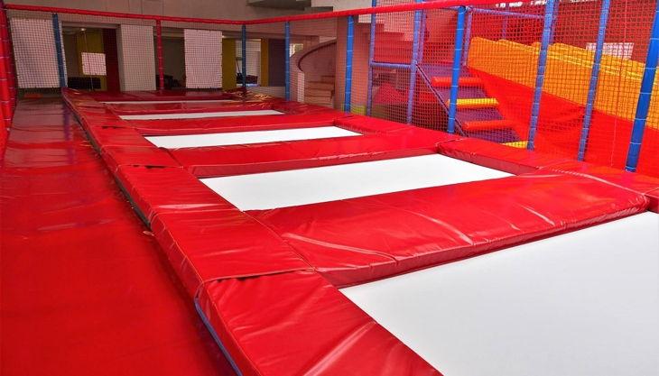 ginoland düsseldorf trampoline