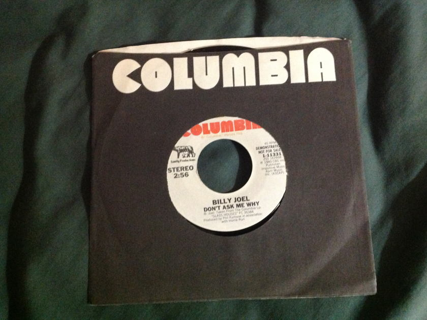 Billy Joel - Don't Ask Me Why Promo 45 NM