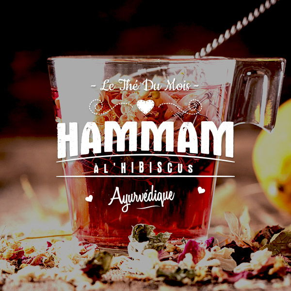 Le hammam à l'hibiscus
