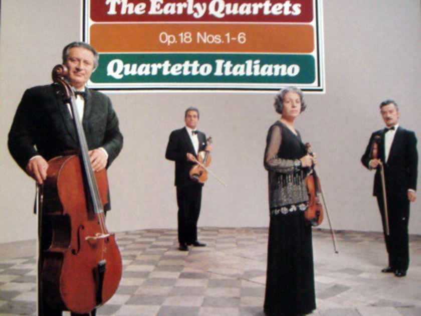 Philips / QUARTETTO ITALIANO, - Beethoven The Early Quartets, MINT, 3LP Box Set!