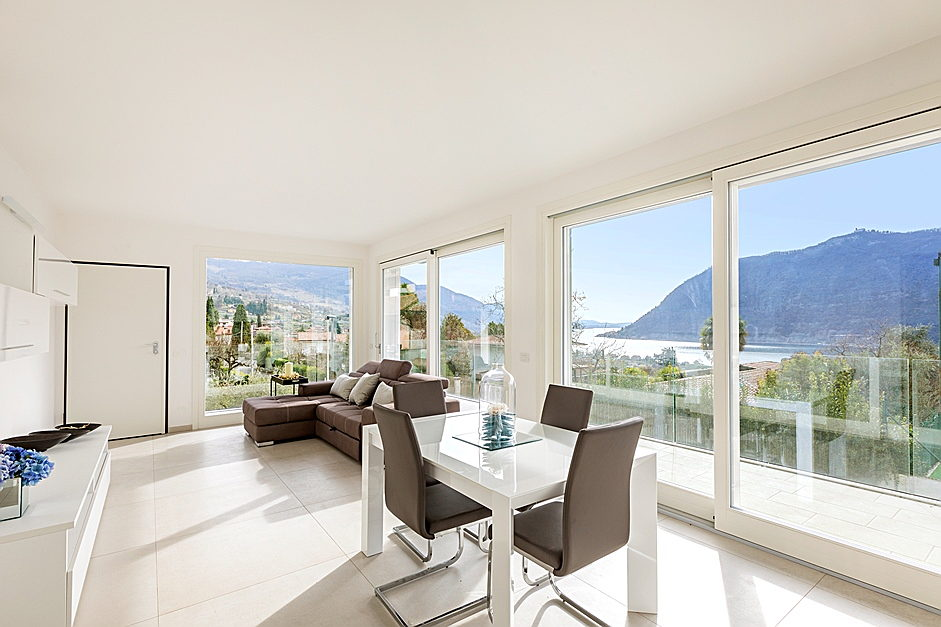Sarnico - New penthouse with a view