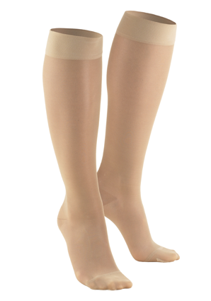 Ladies' Knee High Closed Toe Sheer Stockings