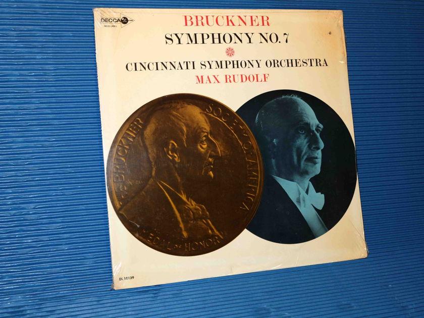 "BRUCKNER / Rudolf  - ""Symphony No.7"" - DECCA 1964 MONO SEALED"