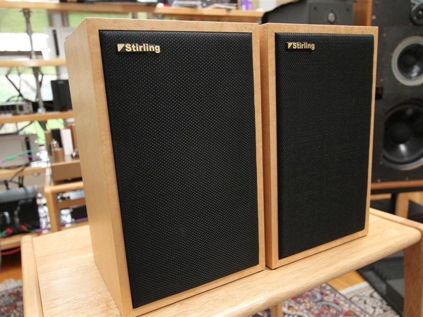 Stirling LS3/5a V2 LE speakers BBC licensed like Rogers, Spendor, Harbeth, etc Almost NOS