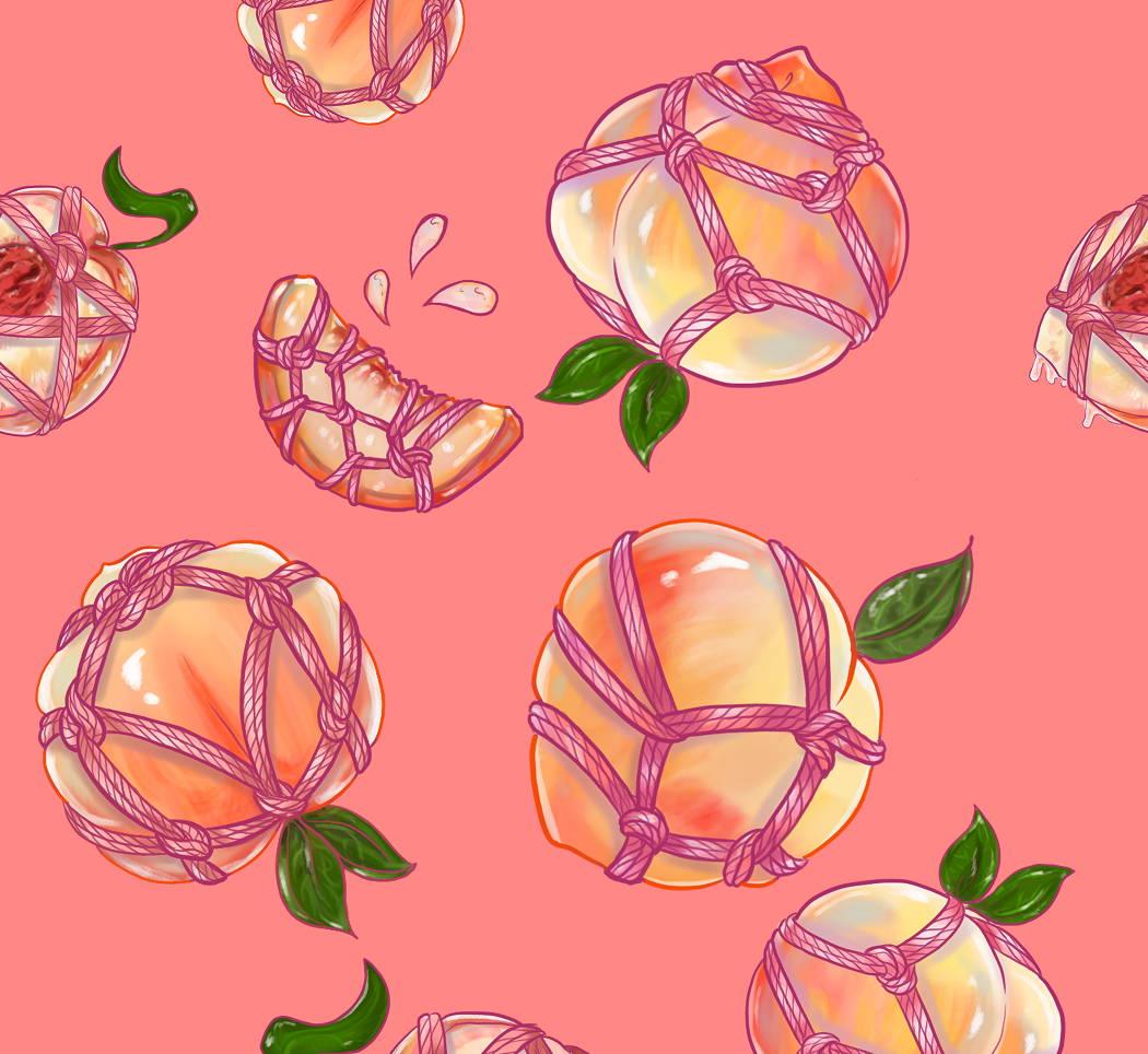 shibari peach