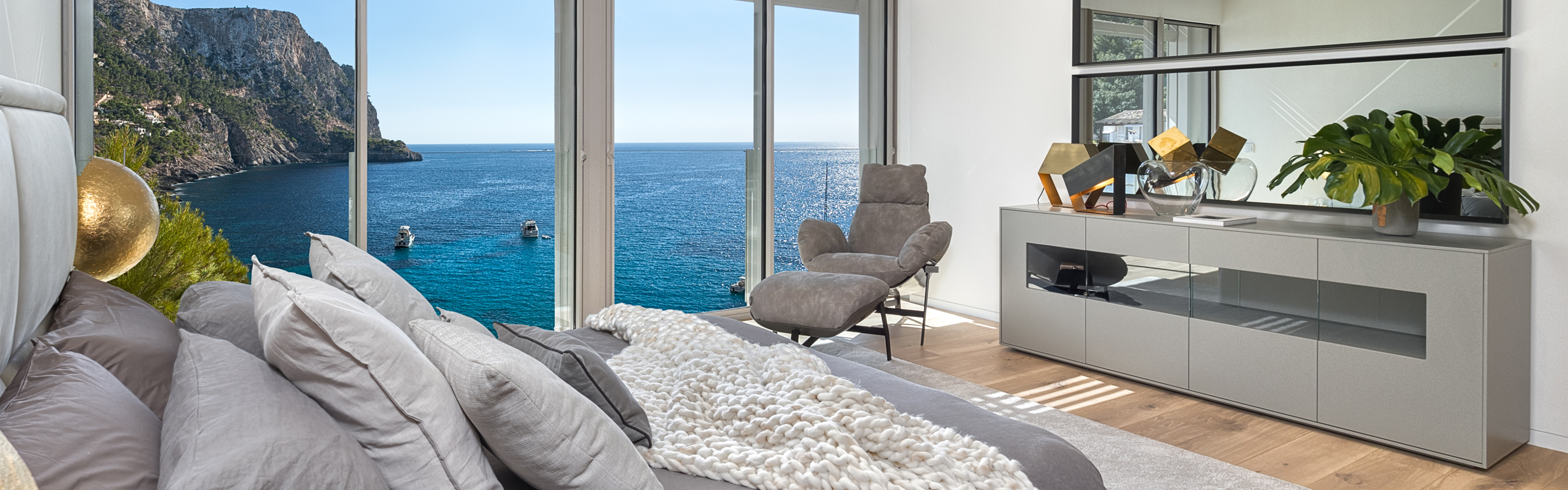 Balearen, Spanien - New Folies - New development with villas for sale in Port Andratx, Mallorca