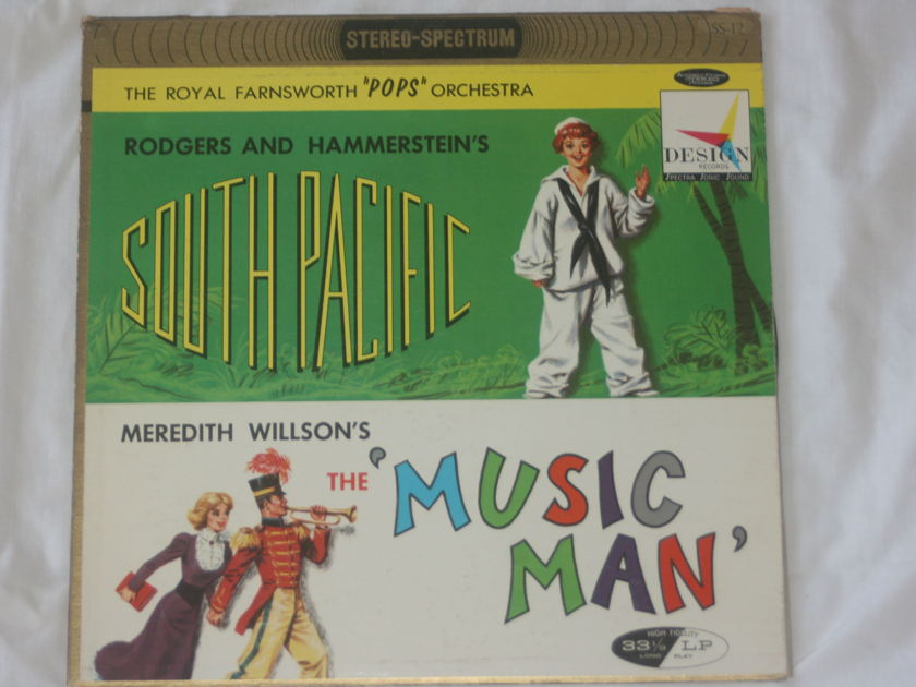 """The Royal Farnsworth """"Pops"""" Orchestra - South Pacific & The 'Music Man' SS-12"""