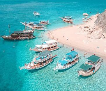 «Мальдивы Адрасана» на Остров Сулу Ада в Кемере из Анталии