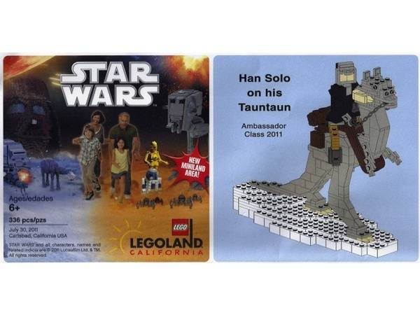 LEGO Han Solo On Tauntaun