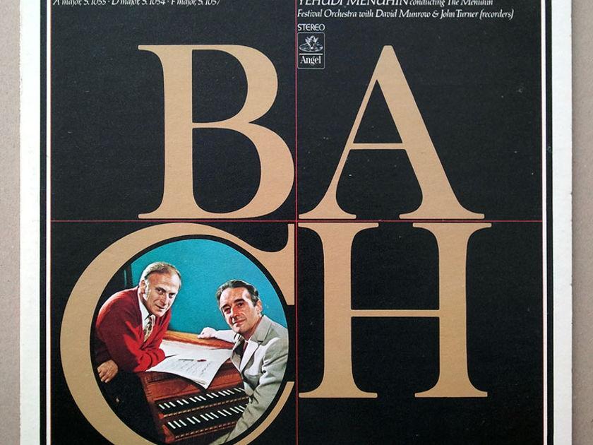 ANGEL | MALCOLM/MENUHIN/BACH - Harpsichord Concertos Nos. 3, 4, 6 / NM