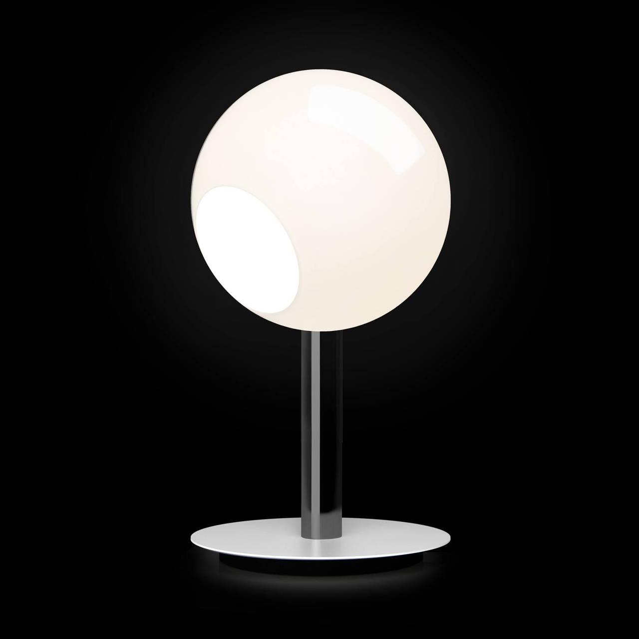 Stem Table Lamp in Black Nickel