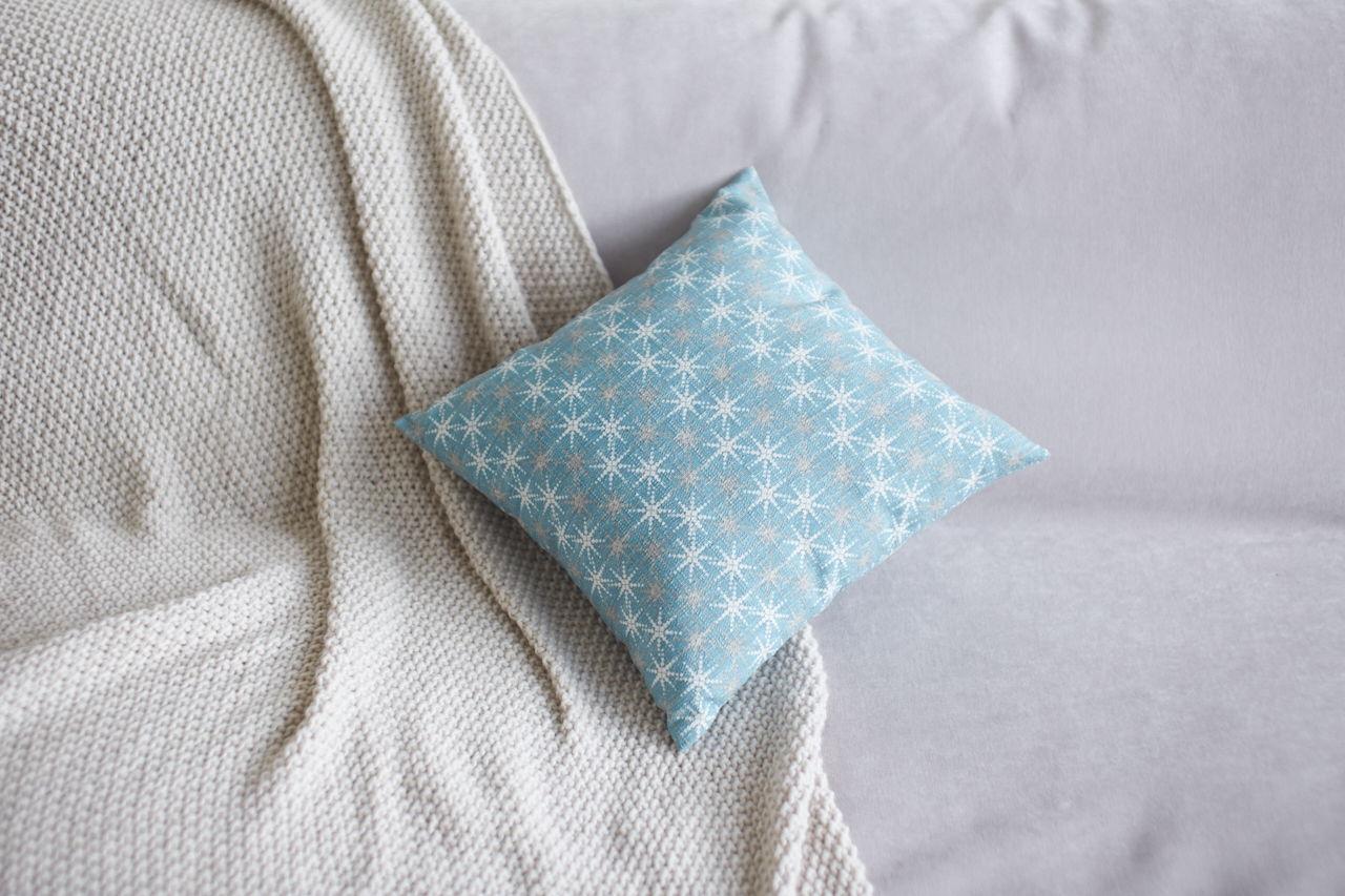 Декоративная подушка из хлопка 40х40 см