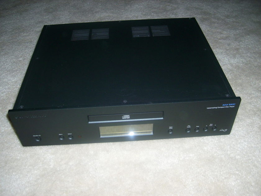 Cambridge  840C black cd player