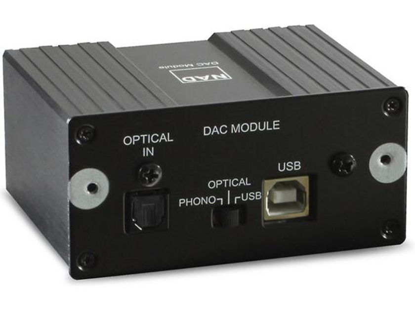 NAD C 356DAC Integrated Amp with Built-In DAC