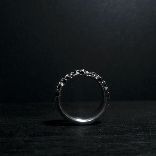 """Матовое кольцо """"Разложение"""""""