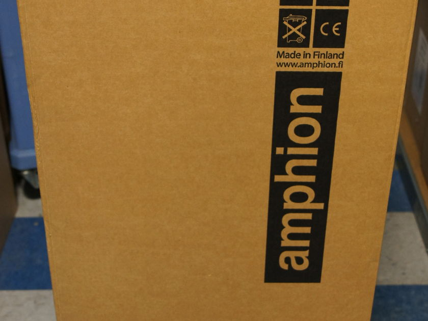 Amphion Prio 520  Floorstanding Speaker in Birch