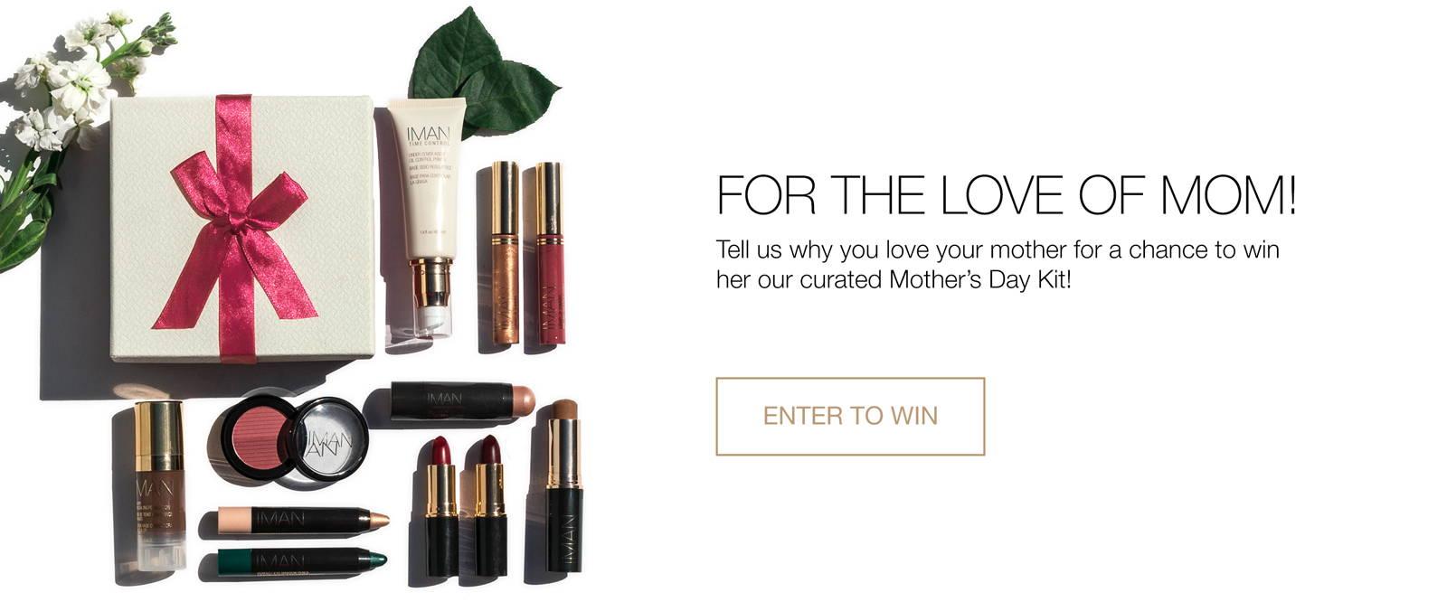 IMAN Cosmetics Mothers Day Sweeps