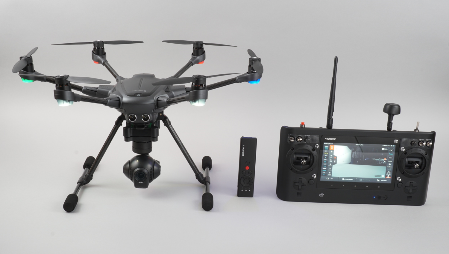 Typhoon H, Wizard Remote, and Main Controller