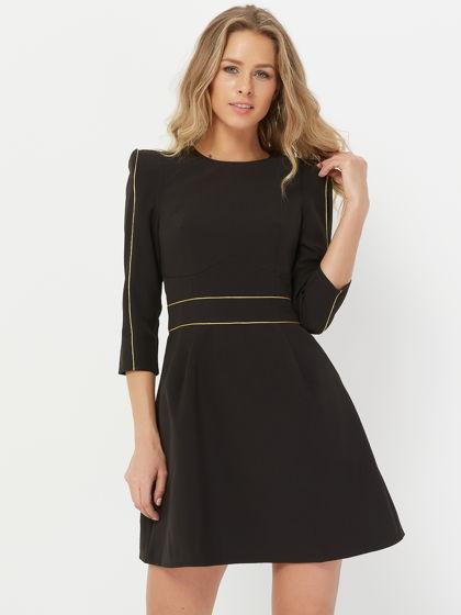 Платье DOLL, черное