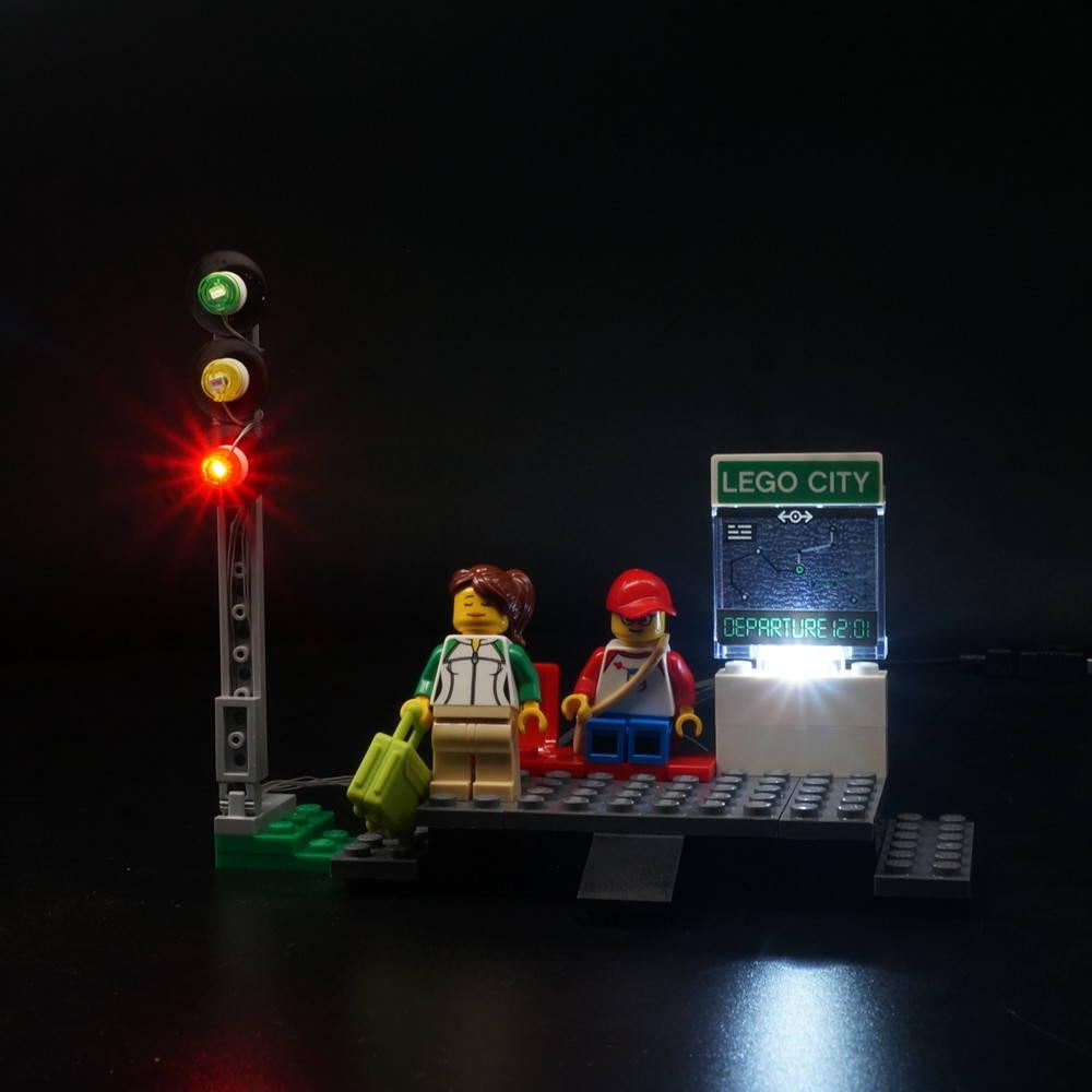 LEGO Passenger Train 60197 light kit