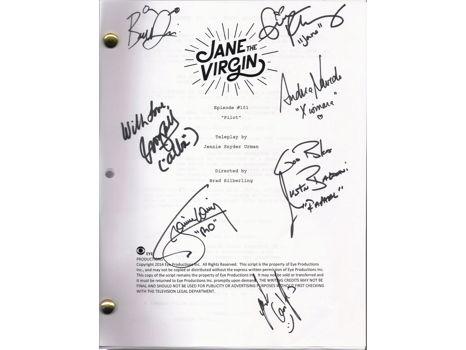 Jane The Virgin Signed Script