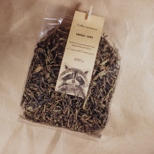 Иван-чай (кипрей узколистный) крупнолиствой (100 г)
