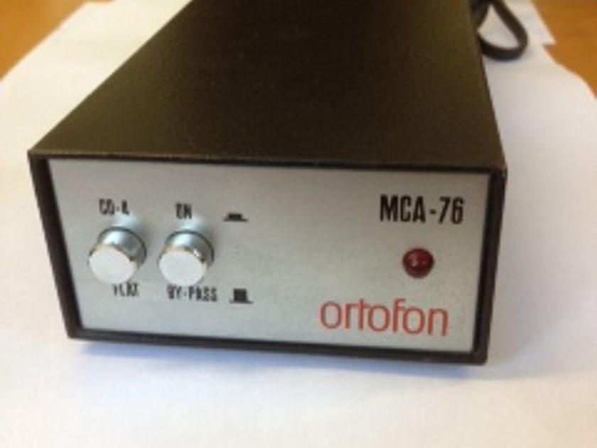 Ortofon MCA 76  MCA 76 Step- Up Transformer SUT Mint condition