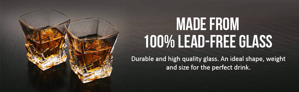 Made from 100% Lean-free Glass