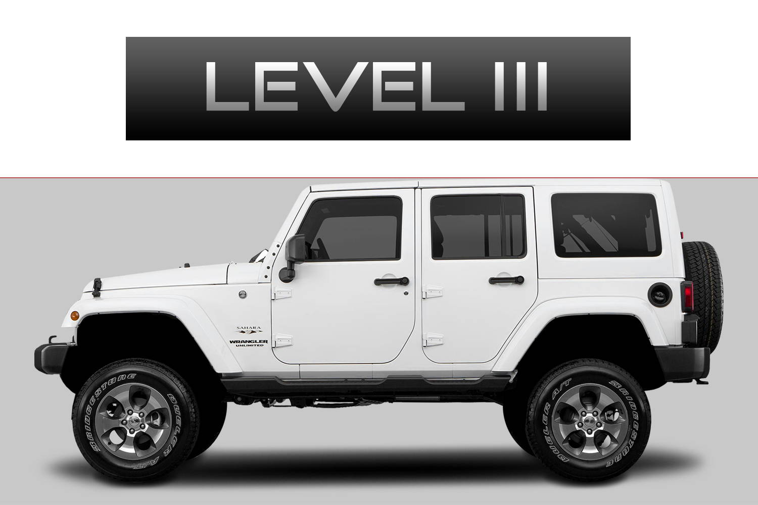 JEEP Wrangler JK Off-Road Customizing Package Level 2 by 3C Trucks