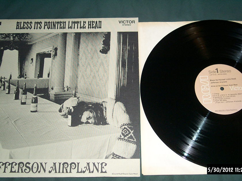 Jefferson Airplane - Bless it's Pointed little head lp nm