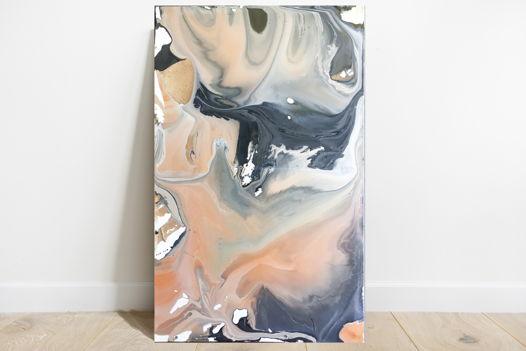 Большой абстрактный холст