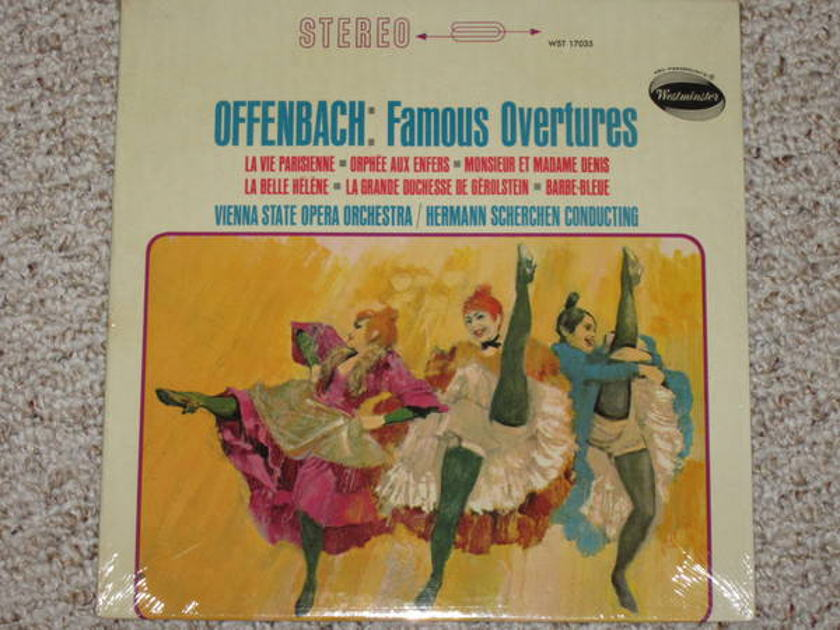 Westminster (Sealed) - WST 17035 offenbach: famous overtures
