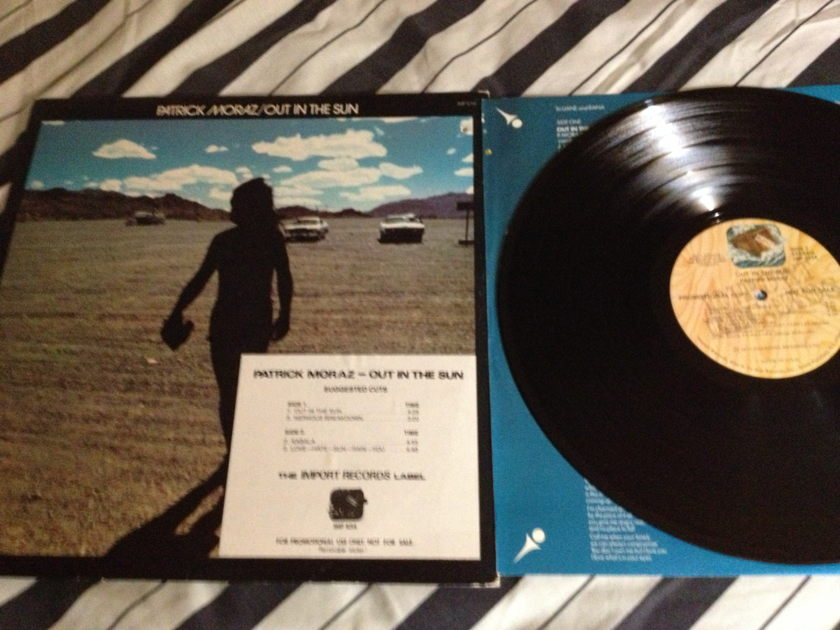 Patrick Moraz(Yes) - Out In The Sun LP NM