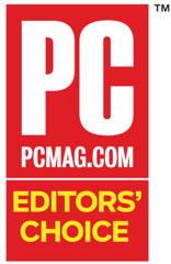 Image of PC Magazine Editor's Choice award logo