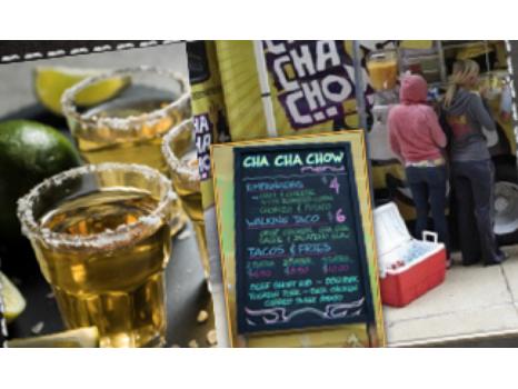 Brett Hull's Tequila and Cha Cha Chow Tacos