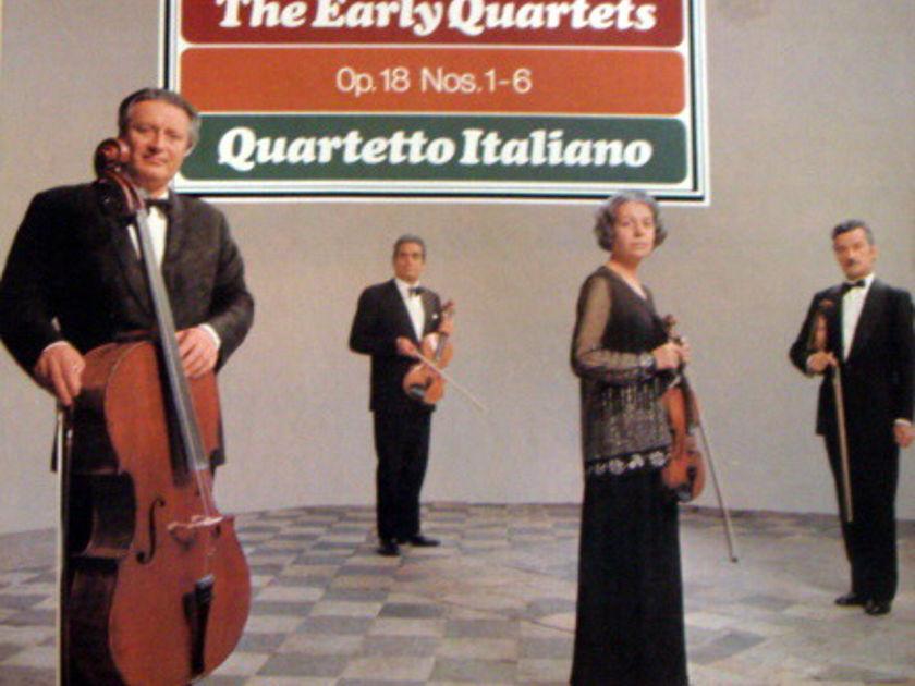 Philips / QUARTETTO ITALIANO, - Beethoven The Early Quartets, MINT, 3LP Box Set!