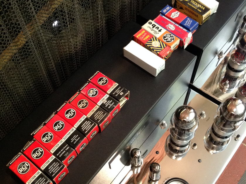 Quicksilver Audio V4 Quicksilver v4 tube mono blocks