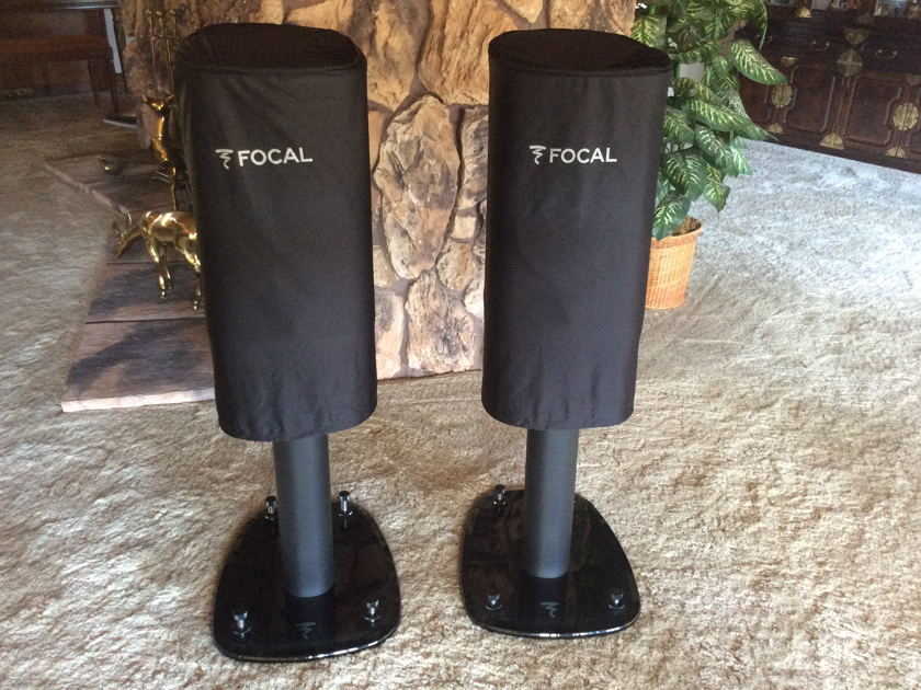Focal Sopra No.1 Audiophile  Stand-Mount Speakers - Gloss Black
