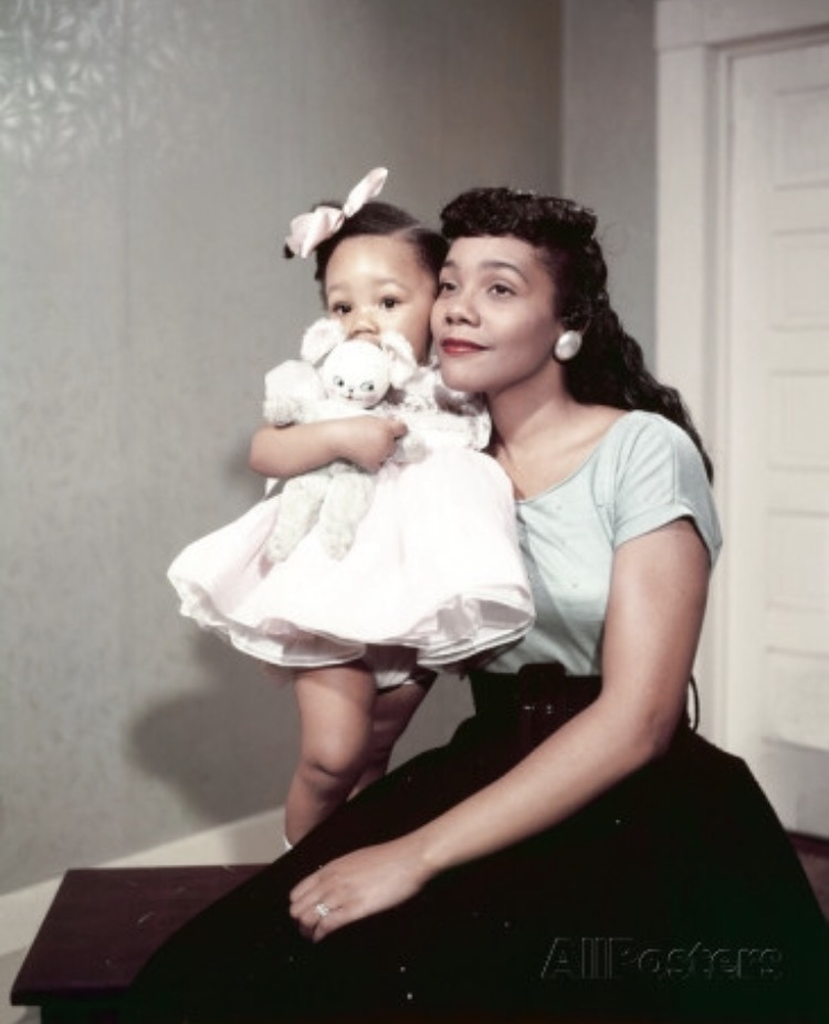 coretta scott king hair